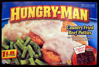 hungry man country fried beef patties