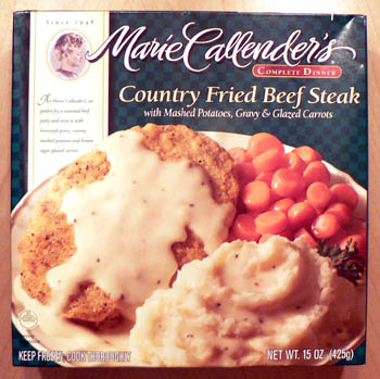 marie callender country fried beef steak
